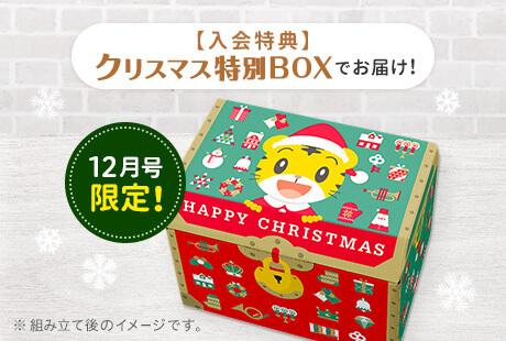 毎年少しずつデザインが変わるクリスマスBOX。今年は枠がついてて宝箱感が2割増しです。
